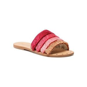 Manebi Šľapky Leather Sandals S 2.2 Y0 Ružová vyobraziť