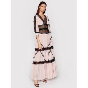Babylon Večerné šaty N_E00718 Ružová Regular Fit vyobraziť