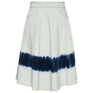 TwinSet Džínsová sukňa 211MT211A Modrá Regular Fit vyobraziť