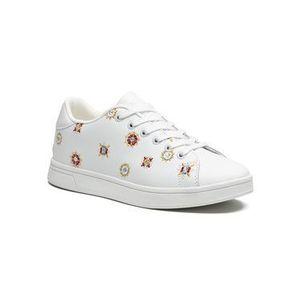 Desigual Sneakersy Shoes Cosmic Juliette 21SSKL04 Biela vyobraziť