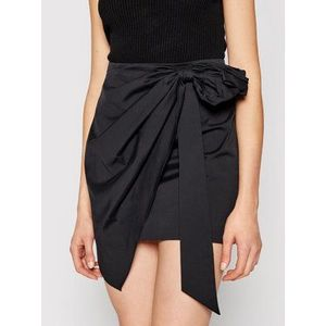 TwinSet Mini sukňa 211MT2263 Čierna Regular Fit vyobraziť