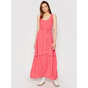 TWINSET Večerné šaty 211TT2168 Ružová Regular Fit vyobraziť
