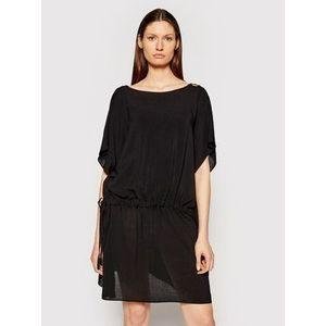 Chantelle Plážové šaty Seashell C20H60 Čierna Regular Fit vyobraziť