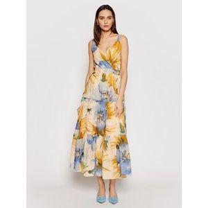 TWINSET Večerné šaty 211MT2665 Farebná Regular Fit vyobraziť