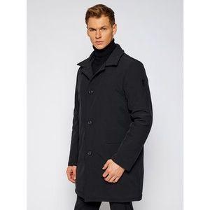 Trussardi Zimný kabát Neoprene Car 52S00471 Čierna Regular Fit vyobraziť