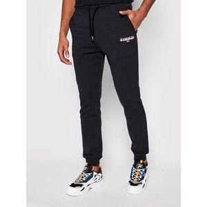 Napapijri Teplákové nohavice M-Ice S NP0A4F6R Čierna Regular Fit vyobraziť