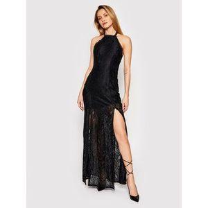 Guess Večerné šaty W1GK0J KAF20 Čierna Slim Fit vyobraziť