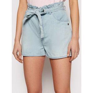 Roxy Džínsové šortky Salento Playa ERJDS03221 Modrá Loose Fit vyobraziť