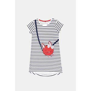 Dievčenská nočná košeľa Buny s prúžkami vyobraziť