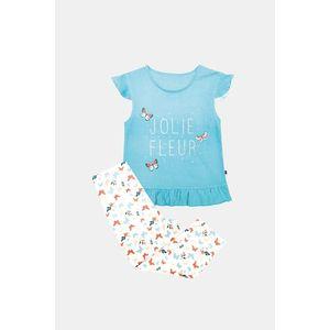 Dievčenské pyžamo Lila modré vyobraziť