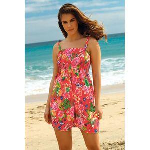 Plážové šaty Leafy Coral vyobraziť