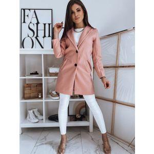 Elegantný ružový kabát JESSICA. vyobraziť