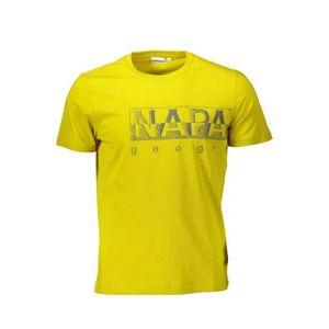 Napapijri pánske tričko Farba: žltá, Veľkosť: 3XL vyobraziť