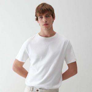 Reserved - basic bavlnené tričko - Biela vyobraziť