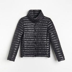 Reserved - Ľahká prešívaná bunda - Čierna vyobraziť