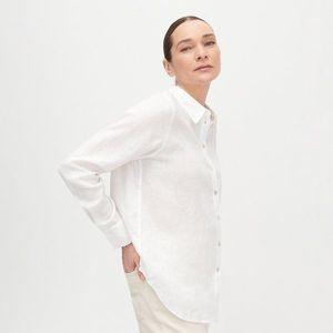 Reserved - Ľanová košeľa PREMIUM - Krémová vyobraziť
