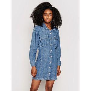 Levi's® Džínsové šaty Braelyn Utility 29325 Tmavomodrá Regular Fit vyobraziť