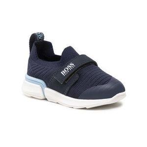 Boss Sneakersy J09151 S Tmavomodrá vyobraziť