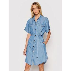 Pinko Džínsové šaty Chipo 1J10MP Y6X4 Modrá Regular Fit vyobraziť