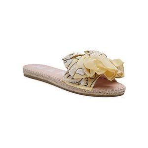 Manebi Espadrilky Sandals With Bow G 5.7 J0 Žltá vyobraziť