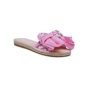 Manebi Espadrilky Sandals With Bow G 5.8 J0 Ružová vyobraziť