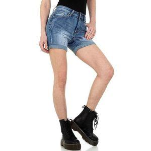 Dámske štýlové jeansové kraťasy vyobraziť