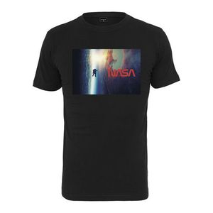 Mr. Tee NASA Planet Trip Tee black - S vyobraziť