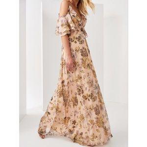Trendyol dámske kvetinové šaty vyobraziť