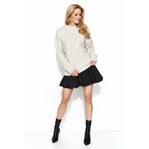Makadamia Woman's Sweater MAKs63 Melange vyobraziť