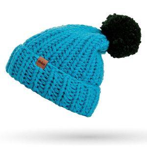 Zimná čiapka pletená s brmbolcom DOKE vyobraziť