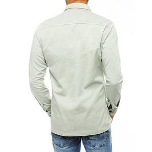 Mint men's denim shirt DX1848 vyobraziť