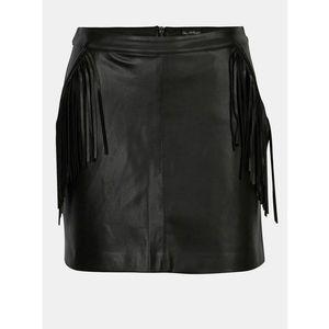 Koženková sukňa vyobraziť