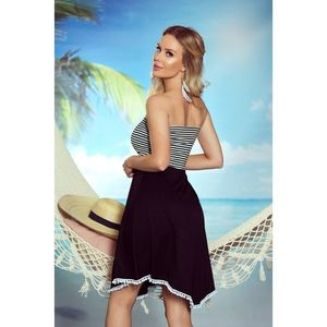 Eldar Woman's Tunic Sandy Stripes White/Black vyobraziť