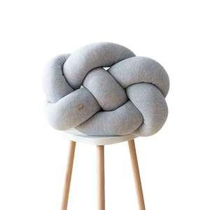 Wood'n'Wool Unisex's Fat Pillow Light Melange vyobraziť