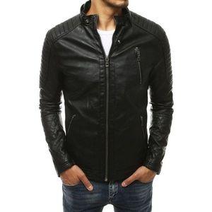 Čierna pánska koženková bunda TX3401 skl.31 vyobraziť