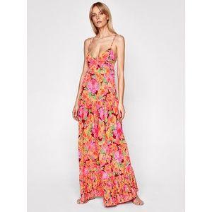 Maaji Letné šaty 1522CLD004 Ružová Regular Fit vyobraziť