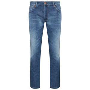 Wrangler Džínsy Larston W18SQ148R Modrá Slim Fit vyobraziť