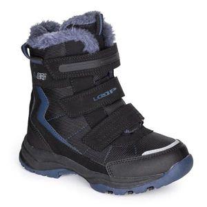 Čierne detské zimné topánky LOAP vyobraziť