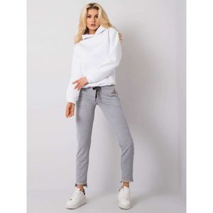 Gray melange women´s sweatpants vyobraziť