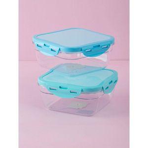 Square mint food container vyobraziť