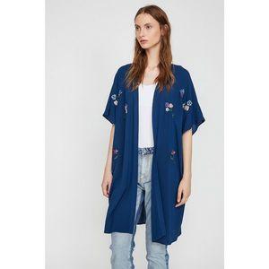 Koton Women's Blue Kimono vyobraziť
