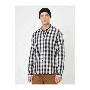 Koton Men's Checkered Shirt vyobraziť