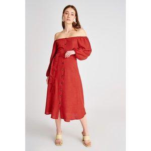 Dámske šaty Trendyol Belt detailed vyobraziť