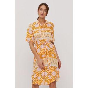 VERO MODA Šaty oranžová vyobraziť