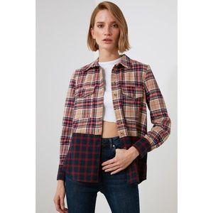 Trendyol Multicolored Plaid Shirt vyobraziť