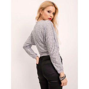 Melange gray BSL blouse vyobraziť