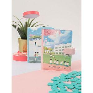 Pink colored notebook vyobraziť
