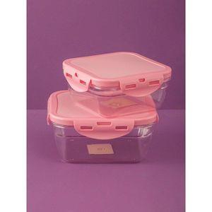 Pink food container vyobraziť