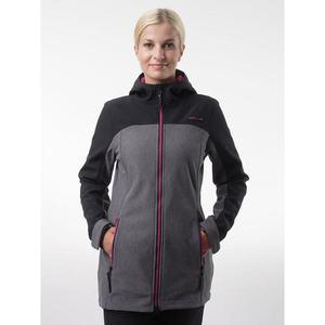 LYANA women's softshell coat black vyobraziť