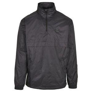 Urban Classics Stand Up Collar Pull Over Jacket black - L vyobraziť